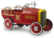 1932 Ford Fire Engine Pedal Toy
