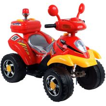 Lil' Rider? Battery Powered 4 Wheeler - Red/Yellow Ride On Toy