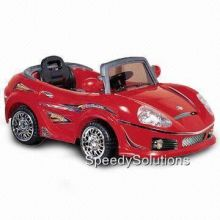 Crazy Convertible 6 Vt. Battery Powered Car With Remote & MP3 Red