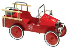 Jalopy Fire Truck Pedal Car