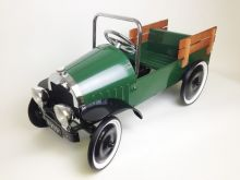 Jalopy Pedal Car Pickup Truck - GREEN