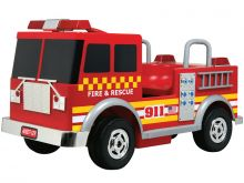 Kalee Fire Truck Battery Operated 12v Red Ride On Toy
