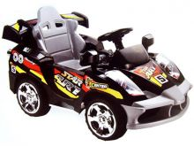 Mini Motos Star Car 6v Battery Powered - Black (Remote Controlled)