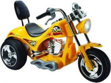 Mini Motos Red Hawk Motorcycle 12v Yellow Battery Powered Ride On Toy