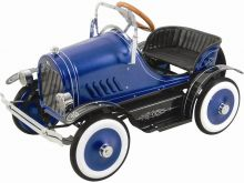 Kalee Deluxe Roadster Pedal Car Blue