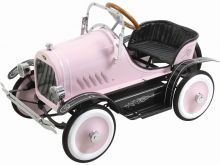 Kalee Deluxe Roadster Pedal Car Pink