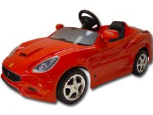 Toys Toys Ferrari California 12v Battery Powered Ride On Car