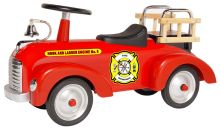 Morgan Fire Engine Scoot-ster Foot to Floor Ride On