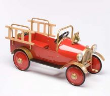 Fire Truck Antique Pedal Toy