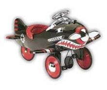 The Shark Attack Pedal Plane