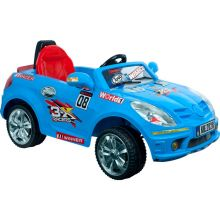 Lil' Rider? Battery Powered Sports Car w/ Remote - Cobalt